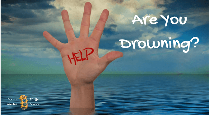 are you drowning