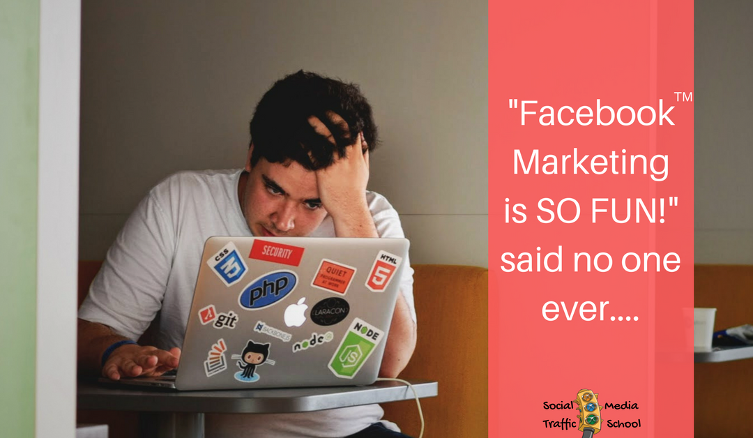 You're Frustrated with Your Facebook Business Page