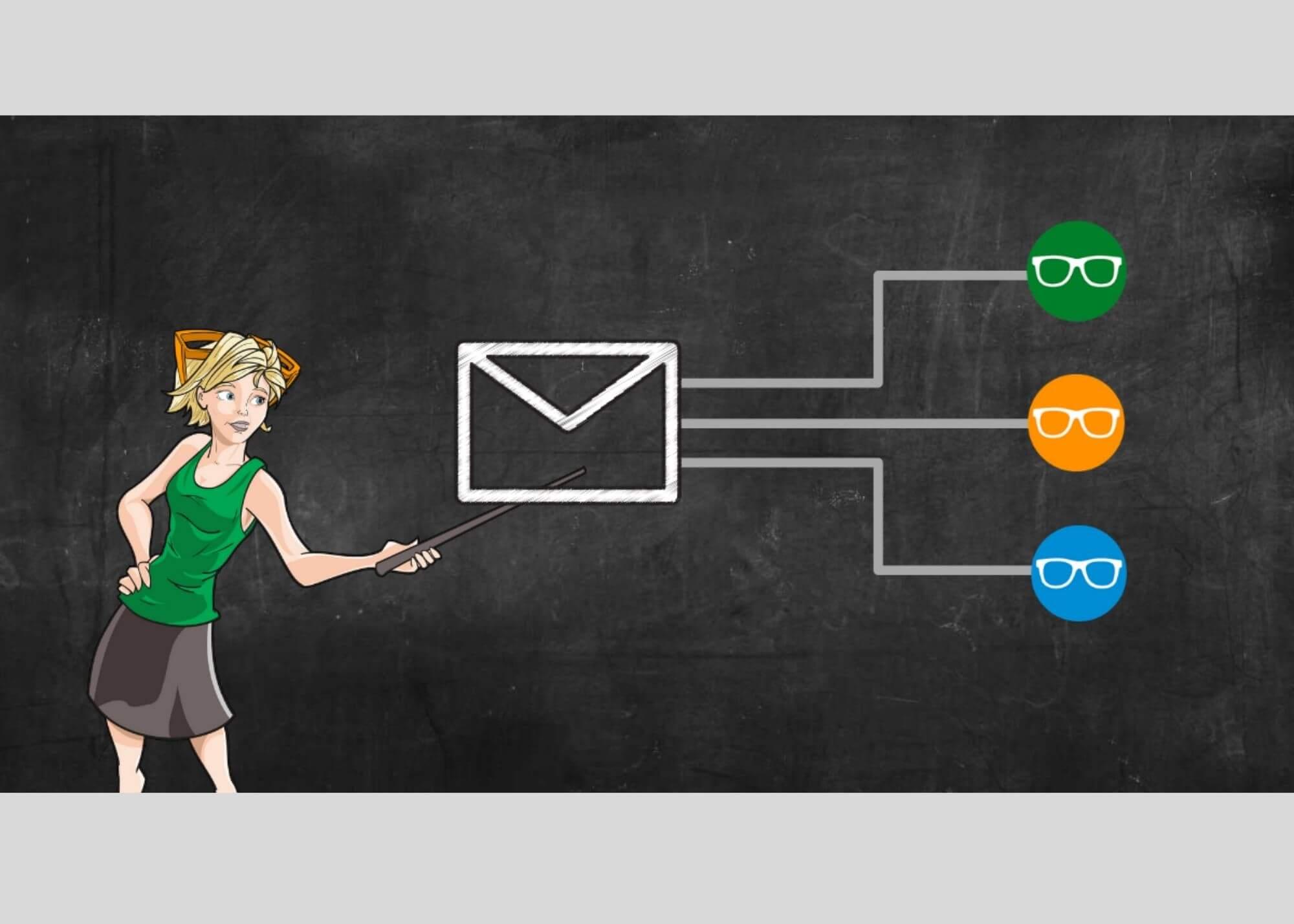 email marketing flowchart by sally hendrick