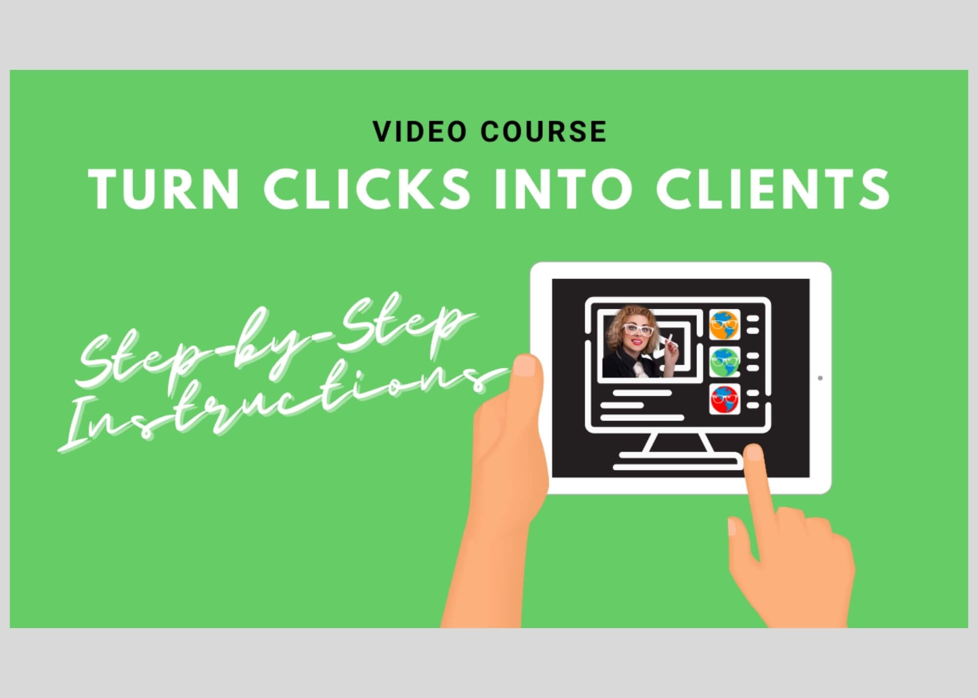 turn website visitors into paying clients with sally hendrick