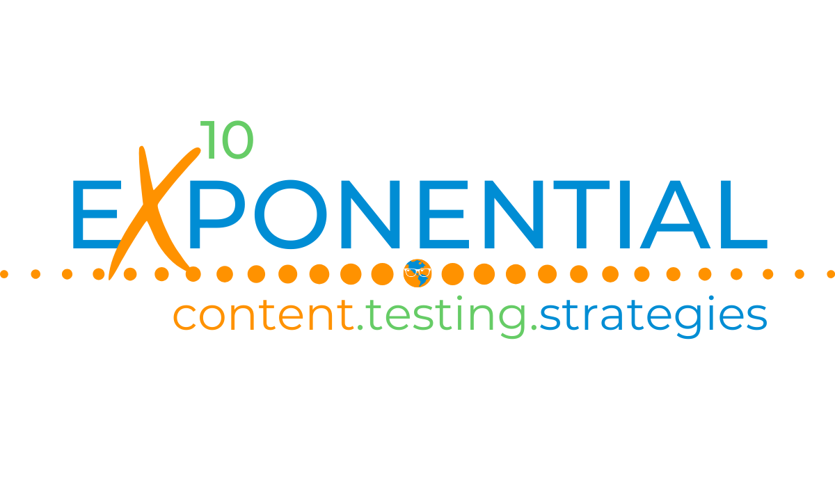Exponential Content Testing Strategies Sally Hendrick